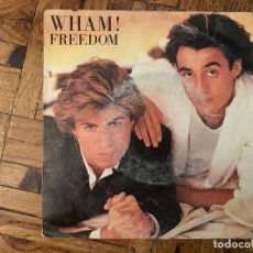 Discos de vinil: WHAM! ‎– FREEDOM SELLO: EPIC ‎– EPCA 4743, EPIC ‎– A 4743 FORMATO: VINYL, 7 , 45 RPM, SINGLE . Lote 182780873