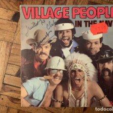 Discos de vinilo: VILLAGE PEOPLE – IN THE NAVY SELLO: BARCLAY – 128 099, BARCLAY – 128099 FORMATO: VINYL, 7 . Lote 182781261