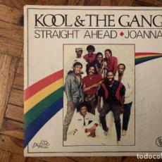 Discos de vinilo: KOOL & THE GANG – STRAIGHT AHEAD / JOANNA SELLO: DE-LITE RECORDS – 101821, VOGUE – 101821 FORMAT. Lote 182781338