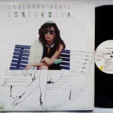 Discos de vinilo: LOREDANA BERTÈ. LORINEDITA. LP CGD LSM 1107. ITALY 1983. . Lote 182781410