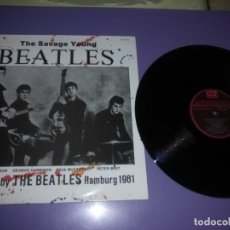 Discos de vinilo: MUY RARO LP -THE BEATLES - THE SAVAGE YOUNG / TONY SHERIDAN AND THE BEATLES.1982 SPAIN CFE ES 169. Lote 182783205