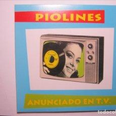 Discos de vinilo: PIOLINES?– ANUNCIADO EN T.V. - DOBLE EP VINILO GATEFOLD 20 TEMAS NUEVO A ESTRENAR!. Lote 182783598