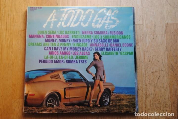 A TODO GAS. FUSIOON.GERRY RAFFERTY, ETC. BELTER 1973. LP. SEXY COVER. (Música - Discos - LP Vinilo - Grupos Españoles de los 70 y 80)