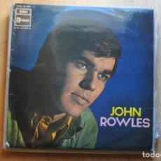 Discos de vinilo: JOHN ROWLES.. EMI LP 1968. Lote 182784801