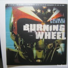Discos de vinilo: PRIMAL SCREAM SINGLE VINILO UK BURNING WHEEL NUEVO A ESTRENAR. Lote 182786282