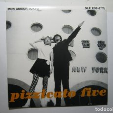 Discos de vinilo: PIZZICATO FIVE MON AMOUR TOKYO SINGLE VINILO UK NUEVO A ESTRENAR. Lote 182787022