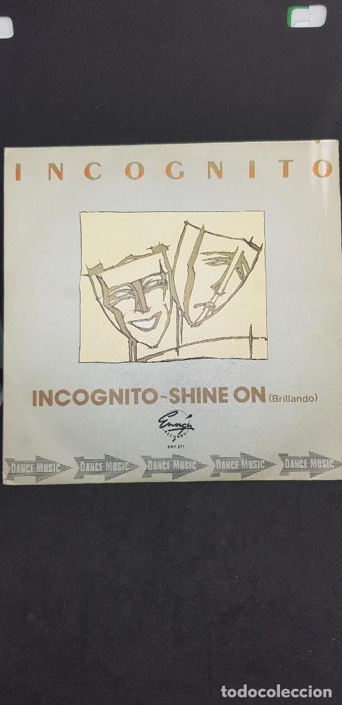 INCOGNITO 'INCOGNITO' 1981 (Música - Discos - Singles Vinilo - Disco y Dance)
