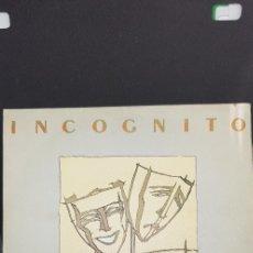 Discos de vinilo: INCOGNITO 'INCOGNITO' 1981. Lote 182787495