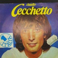 Discos de vinilo: CLAUDIO CECCHETTO 'GIOCA JOUER' 1981. Lote 182788417