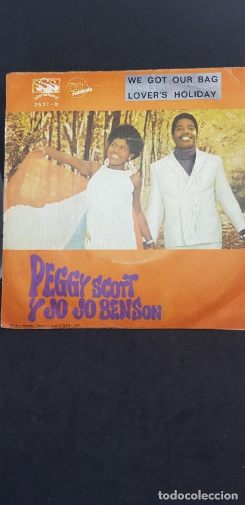 PEGGY SCOTT & JOJO BENSON 'WE GOT OUR BAG' 1969 (Música - Discos - Singles Vinilo - Funk, Soul y Black Music)