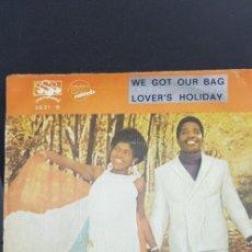 Discos de vinilo: PEGGY SCOTT & JOJO BENSON 'WE GOT OUR BAG' 1969. Lote 182788751