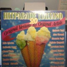 Discos de vinilo: LP HIT PARADE ITALIANO : UMBERTO TOZZI, RAFFAELLA CARRA, JULIO IGLESIAS, FAUSTO LEALI, GIANNI BELLA . Lote 182789810