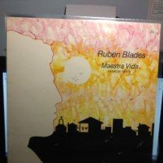 Discos de vinilo: LP RUBEN BLADES : MAESTRA VIDA , PRIMERA PARTE. Lote 182791132