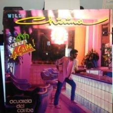 Discos de vinilo: LP WILLY CHIRINO : ACUARELA DEL CARIBE. Lote 182791533