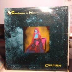 Discos de vinilo: LP CARMEN ( GRUPO DE ROCK PROGRESIVO ) : FANDANGOS IN SPACE . Lote 182792002