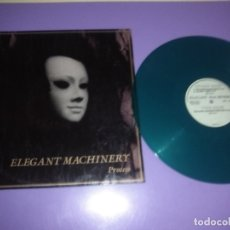 Discos de vinilo: MUY RARO/DIFICIL MAXI SINGLE. ELEGANT MACHINERY. PROCESS.1992. VINILO COLOR VERDE. ED. BOL RECORDS.. Lote 182792351