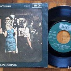 Discos de vinilo: ROLLING STONES - HONKY TONK WOMEN. Lote 182794875