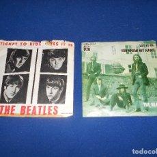 Discos de vinilo: DOS DISCOS BEATLES. Lote 182795713