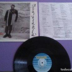 Discos de vinilo: ARRAJATABLA - SEVILLA BLUES- LP 1992 + INSERT- RAIMUNDO AMADOR/ PATA NEGRA. Lote 182798285