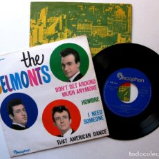 Discos de vinilo: THE BELMONTS - DON'T GET AROUND MUCH ANYMORE +3 - EP DISCOPHON 1963 BPY. Lote 182798978