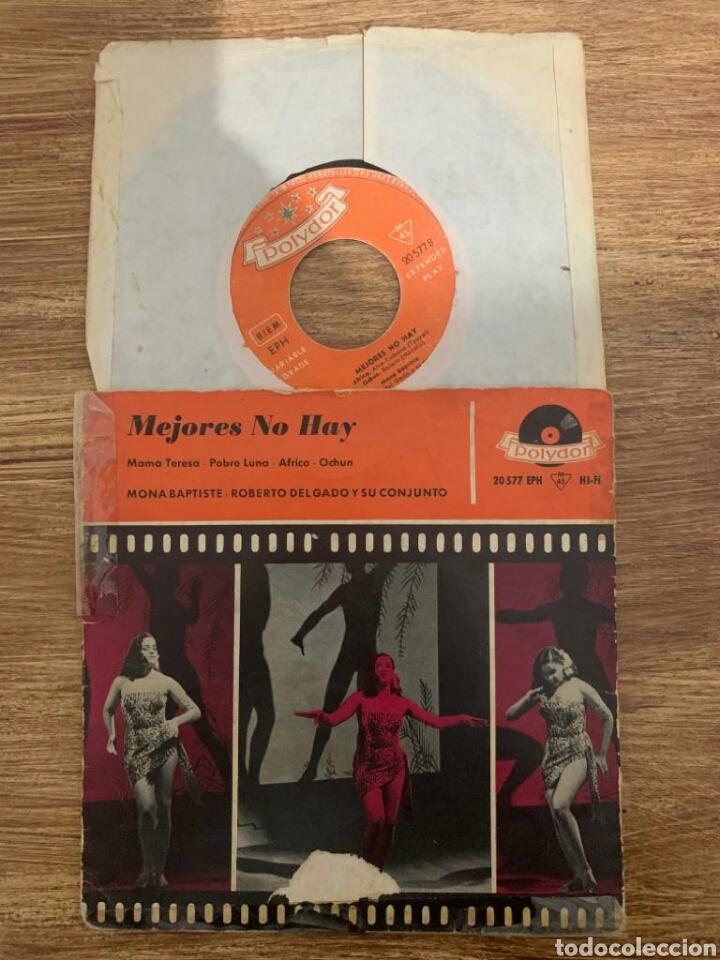 EP MONA BAPTISTE ROBERTO DELGADO Y SU CONJUNTO - MEJORES NO HAY (Música - Discos - Singles Vinilo - Country y Folk)
