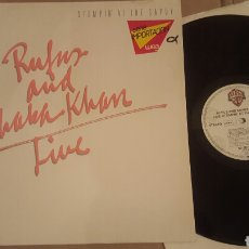 Discos de vinilo: RUFUS AND CHAKA KHAN LIVE AT SAVOY ¡SOLO UN LP! GATEFOLD. Lote 182800808