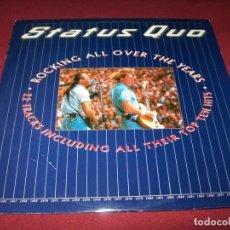 Disques de vinyle: STATUS QUO - ROCKING ALL OVER THE YEARS - 2LP.S - VERTIGO - EDICION ESPAÑA 1991 CON ENCARTES. Lote 182805067