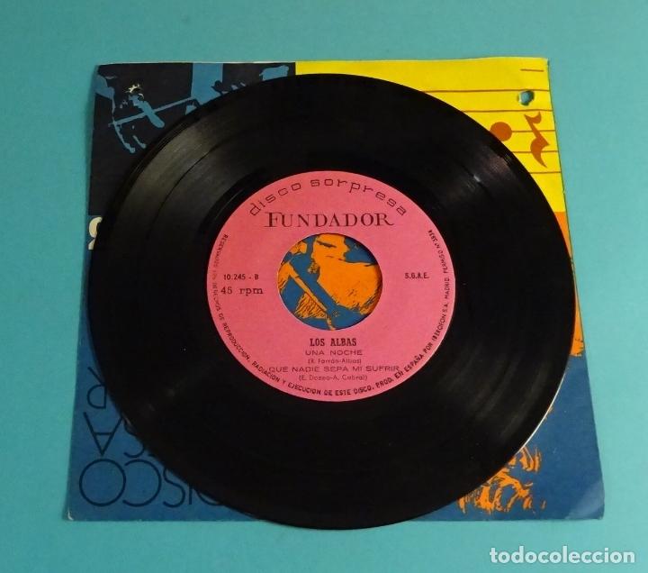 Discos de vinilo: LOS ALBAS. CUANDO EL PÁJARO CANTA, OLE ... EL VERANO, UNA NOCHE, QUE NADIE SEPA MI SUFRIR. FUNDADOR - Foto 2 - 182811255