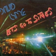 Discos de vinilo: DAVID LYME - LETS GO TO SITGES. Lote 182816662