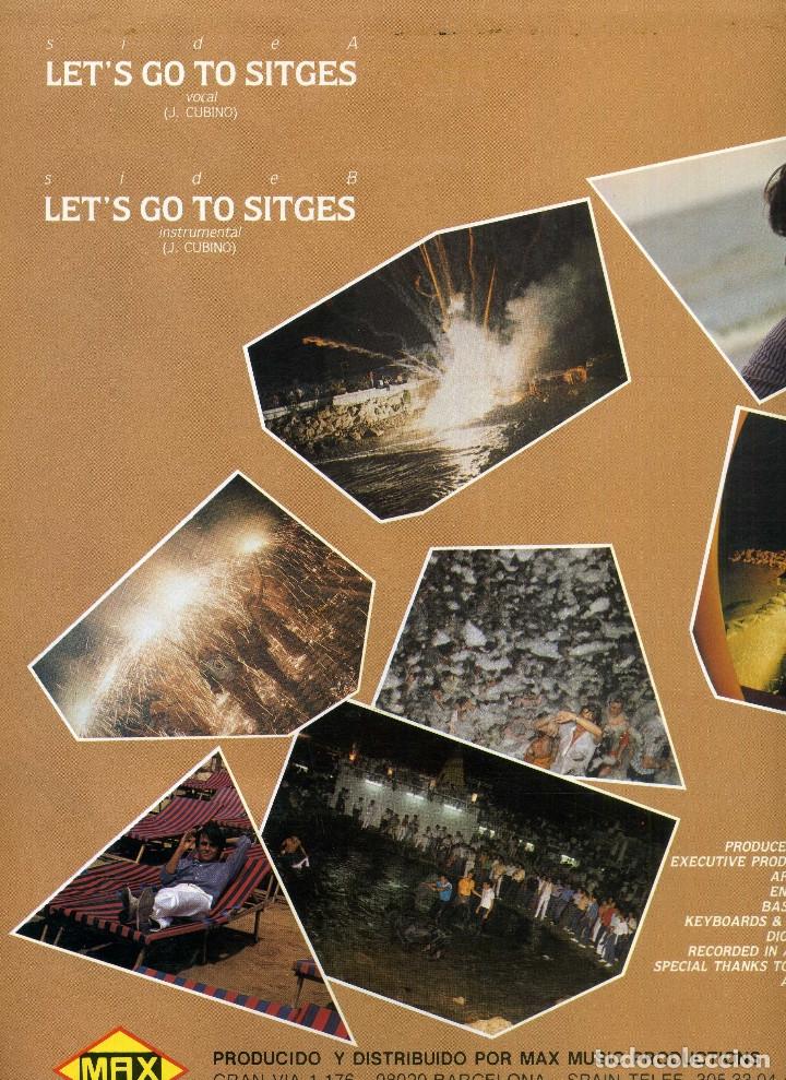Discos de vinilo: DAVID LYME - LETS GO TO SITGES - Foto 2 - 182816662