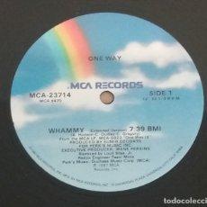 Discos de vinilo: ONE WAY / WHAMMY / MAXI-SINGLE 12 INCH. Lote 182817368
