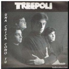 Disques de vinyle: TREEPOLI - OTRO DIA MAS / ESTOY LOCO - SINGLE 1988 - PROMO. Lote 182827643