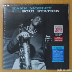 Discos de vinilo: HANK MOBLEY - SOUL STATION - LP. Lote 182834992
