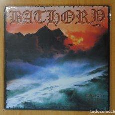 Discos de vinilo: BATHORY - TWILIGHT OF THE GODS - LP. Lote 182835570