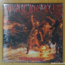 Discos de vinilo: BATHORY - HAMMERHEART - LP. Lote 182835596