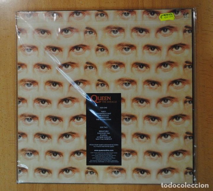 Discos de vinilo: QUEEN - THE MIRACLE - LP - Foto 2 - 182835940