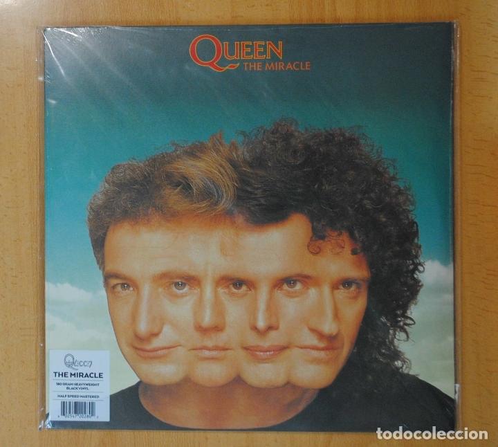QUEEN - THE MIRACLE - LP (Música - Discos - LP Vinilo - Pop - Rock - Extranjero de los 70)