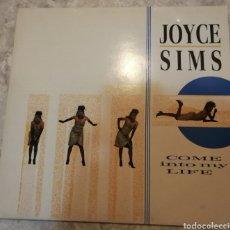 Discos de vinilo: JOYCE SIMS COME IN TO MY LIFE. Lote 182837956