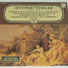 Discos de vinilo: SALVAT GRANDES COMPOSITORES Nº23 - ANTONIO VIVALDI. Lote 182838823