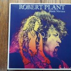 Discos de vinilo: ROBERT PLANT - MANIC NIRVANA . Lote 182840321
