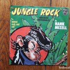 Discos de vinilo: HANK MIZELL - JUNGLE ROCK + ANIMAL ROCK AND ROLL. Lote 182840710