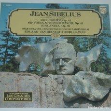 Discos de vinilo: SALVAT GRANDES COMPOSITORES Nº72 - JEAN SIBELIUS. Lote 182840815