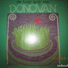 Discos de vinilo: DONOVAN - THE HURDY GURY MAN LP - ORIGINAL U.S.A. - EPIC RECORDS 1968 - STEREO -. Lote 182846498