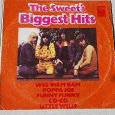 Discos de vinilo: THE SWEET' S. BIGGEST HITS. RCA. ESPAÑA. VG/VG+.. Lote 182848303