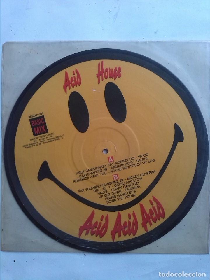 Discos de vinilo: ACID HOUSE VARIOS ARTISTAS - Foto 2 - 182850198