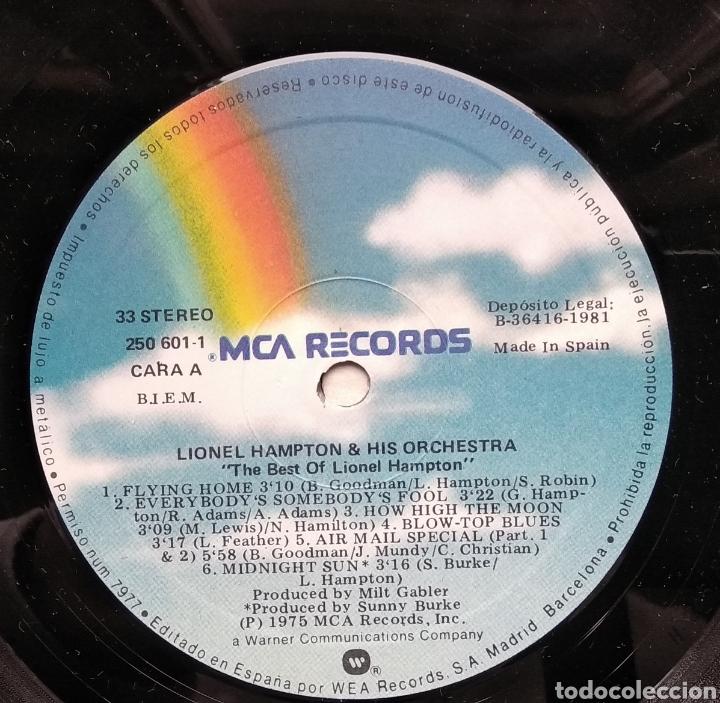 Discos de vinilo: LIONEL HAMPTON - Foto 4 - 182850487