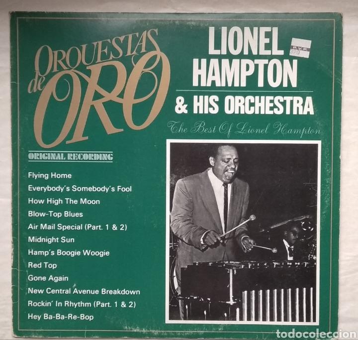 LIONEL HAMPTON (Música - Discos - LP Vinilo - Jazz, Jazz-Rock, Blues y R&B)