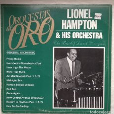Discos de vinilo: LIONEL HAMPTON. Lote 182850487