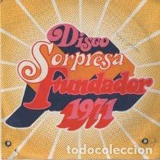 Discos de vinilo: SINGLE PROMO FUNDADOR ÉXITOS - VARIOS. Lote 182850580
