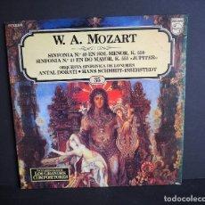 Discos de vinilo: W. A. MOZART. LOS GRANDES COMPOSITORES DE SALVAT. 1982. Lote 182851358
